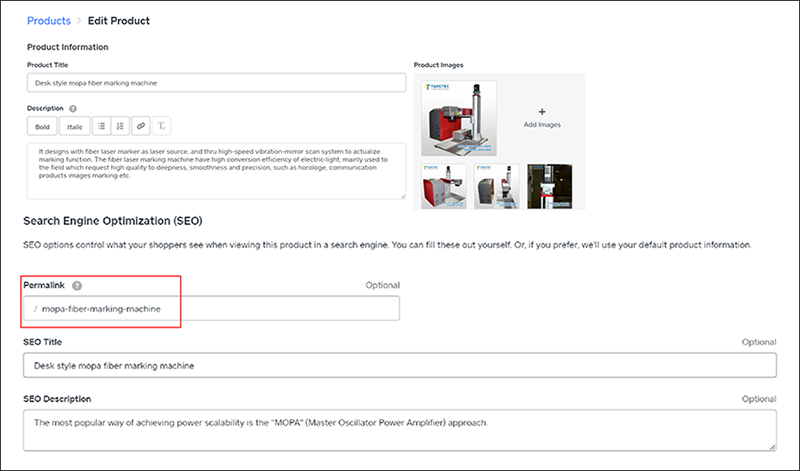 设置网站标题标签的技巧-产品页面Product Pages-iStarto百客聚