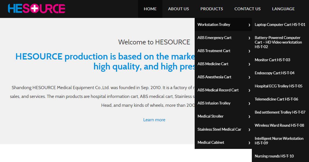 网站层级架构清晰-iStarto百客聚建站成功案例